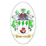 Bernette Sticker (Oval 10 pk)