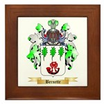 Bernette Framed Tile