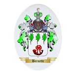 Bernette Ornament (Oval)