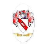 Bernett Oval Car Magnet