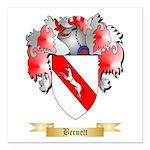 Bernett Square Car Magnet 3