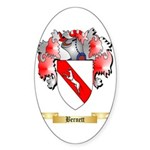 Bernett Sticker (Oval 50 pk)