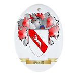 Bernett Ornament (Oval)