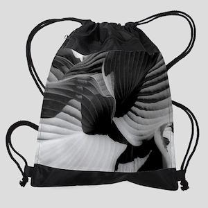 Leaves wc Drawstring Bag