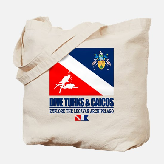 Dive Turks and Caicos Tote Bag