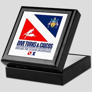 Dive Turks and Caicos Keepsake Box