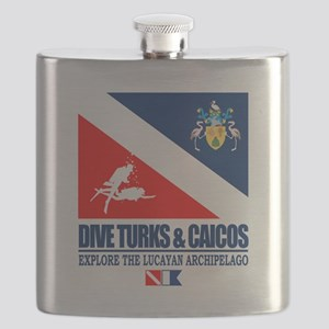 Dive Turks and Caicos Flask