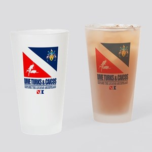 Dive Turks and Caicos Drinking Glass