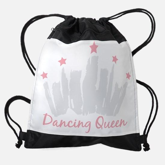 Dancing Queen Crown Drawstring Bag