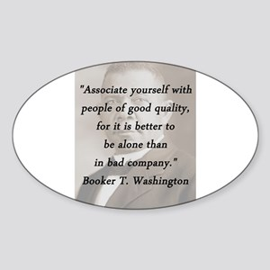 B_Washington - Associate Yourself Sticker