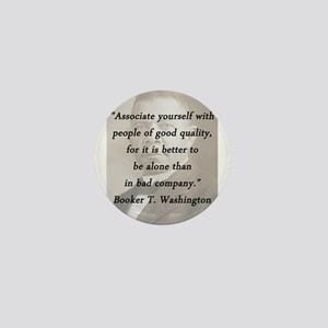 B_Washington - Associate Yourself Mini Button