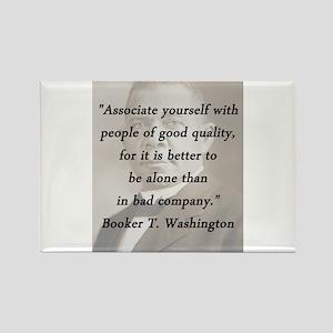 B_Washington - Associate Yourself Magnets