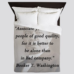 B_Washington - Associate Yourself Queen Duvet