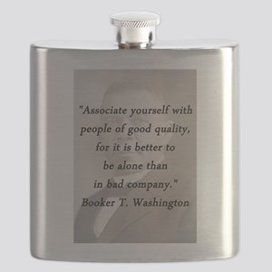 B_Washington - Associate Yourself Flask