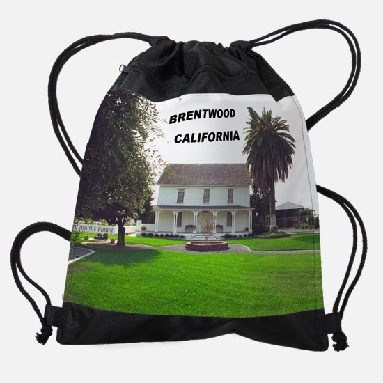 brentwood_museum_front (12).png Drawstring Bag