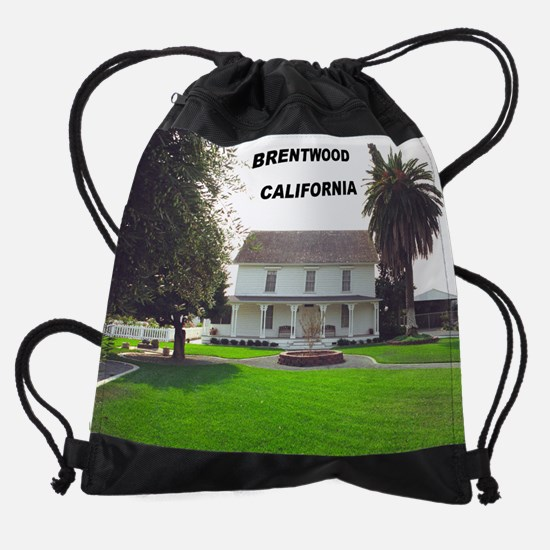 brentwood_museum_front (14).png Drawstring Bag