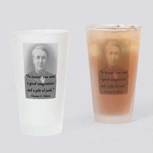 Edison - To Invent Drinking Glass