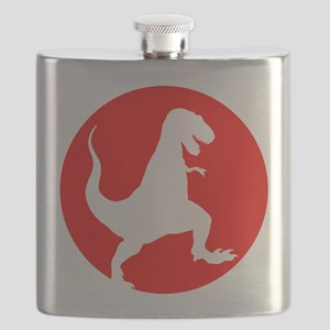 Red TRex Rampage Flask