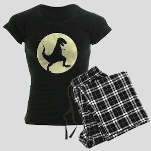 Yellow TRex Rampage Pajamas