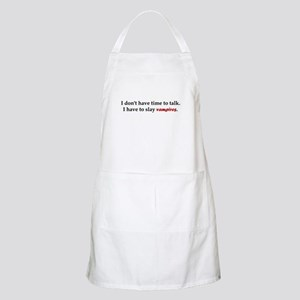 Have to Slay Vampires BBQ Apron