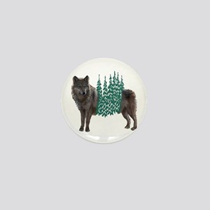 WOLF Mini Button