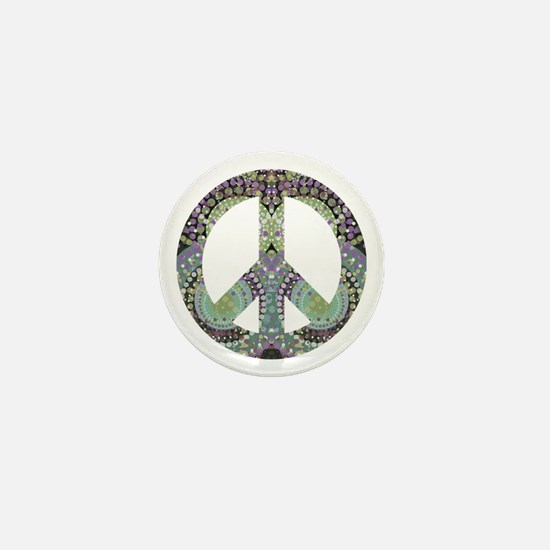 Groovy Summer Peace Mini Button