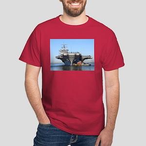 USS Enterprise CVN65 Red T-Shirt Navy gift idea