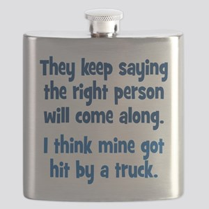 The Right Person Flask