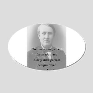 Edison - Genius Wall Decal