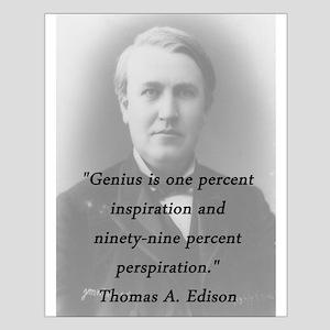 Edison - Genius Posters