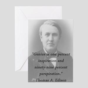 Edison - Genius Greeting Cards