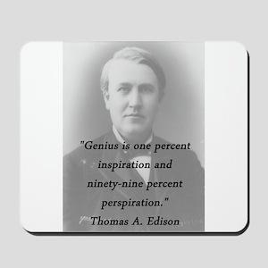 Edison - Genius Mousepad