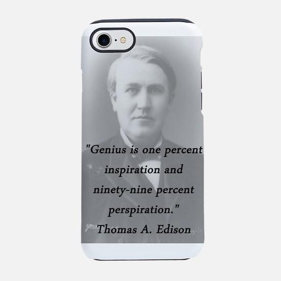 Edison - Genius iPhone 7 Tough Case