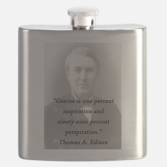 Edison - Genius Flask