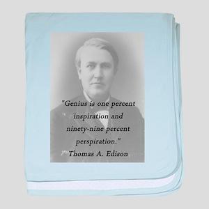 Edison - Genius baby blanket