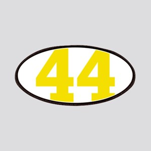 44 YELLOW # FORTY-FOUR Patch