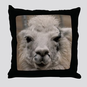 Llama 8716 Throw Pillow