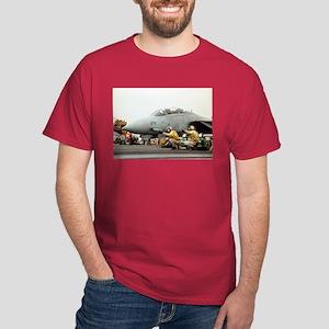 F14B Tomcat Launch Dark T-Shirt Navy Aviation Gift