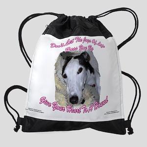 E APRIL WALL CALENDAR TEMPLATE PAGE Drawstring Bag