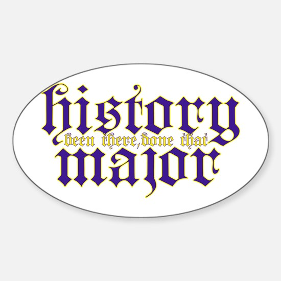 History Major Decal