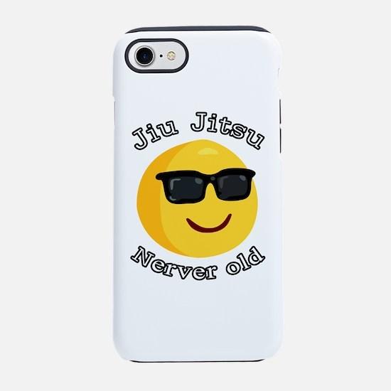 jiu jitsu nerver old iPhone 7 Tough Case