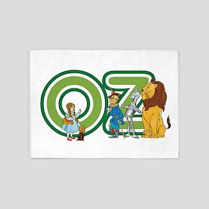 Vintage Wizard of Oz 5'x7'Area Rug