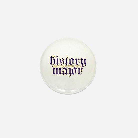 History Major Mini Button