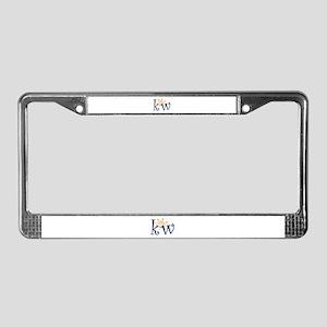 Key West License Plate Frame