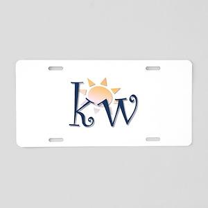 Key West Aluminum License Plate