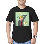 Bald Advantage #1 Men's Fitted T-Shirt (dark)