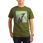Bald Advantage #1 Organic Men's T-Shirt (dark)
