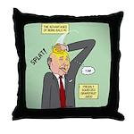Bald Advantage #1 Throw Pillow