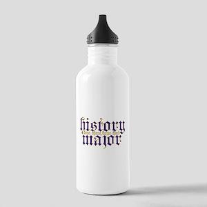 History Major Water Bottle