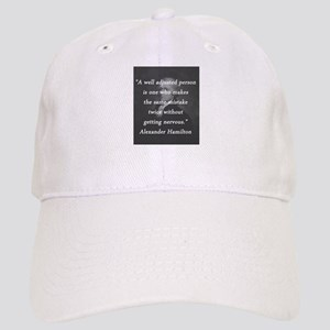 Hamilton - Well Adjusted Person Baseball Cap